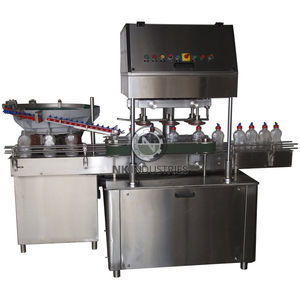 linear screw capping machine / automatic / multi-container / for the pharmaceutical industry
