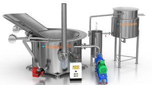 batch industrial fryer