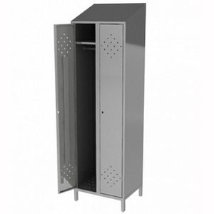 stainless steel locker / for the food industry