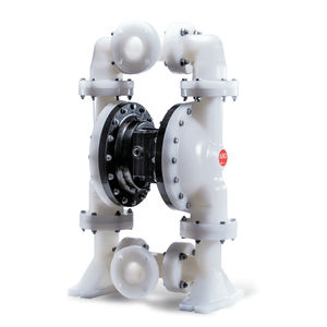 double-diaphragm pump / water / for chemicals / pneumatic