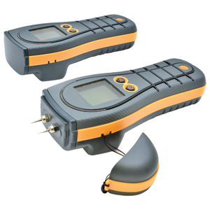 wood moisture meter / building materials / for concrete / pin
