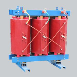 distribution transformer / dry / compact / epoxy resin