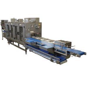 pineapple chunking-slicing machine
