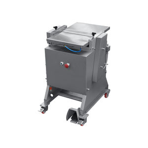 stand-alone fish skinning machine / manual / for salmon / cod