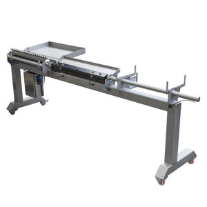 mackerel skewering machine