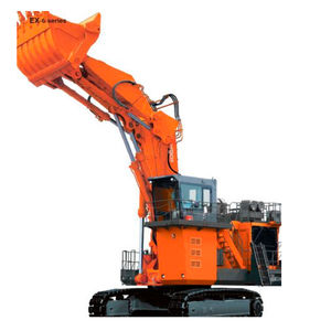 large excavator / crawler / construction / mining and quarrying