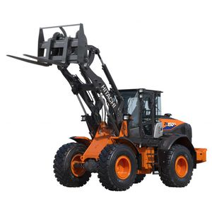 wheeled loader / articulated / for construction