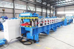 enameled tile roll forming machine