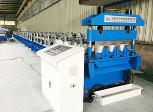 steel floor panel roll forming machine / for floor panels / automatic / PLC-controlled