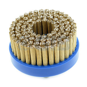 disc brush / finishing / deburring / metal wire