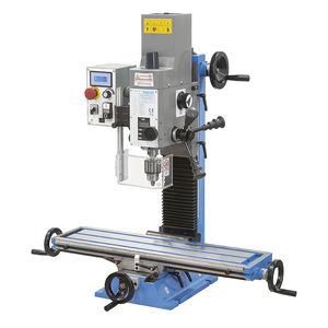 PLC-controlled drilling and milling machine