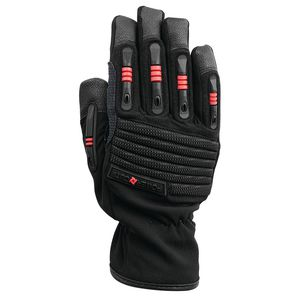 work gloves / mechanical protection / anti-cut / synthetic leather