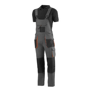 work brace overall / cotton / canvas / polyester