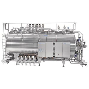 CIP unit for the food industry