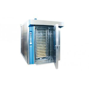 process sterilizer / steam / rotary / for the food industry