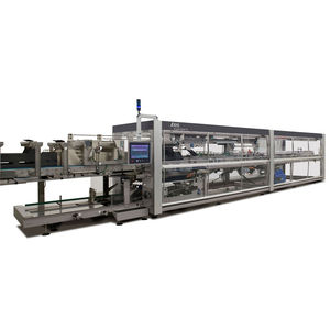 horizontal tray packer / automatic / beverage / for food products