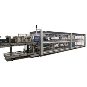 horizontal tray packer / automatic / for bottles / for food