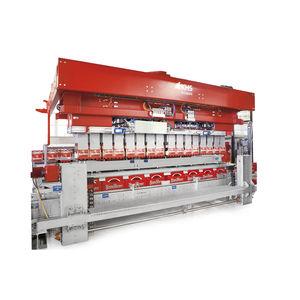 high-speed case packer-unpacker / automatic / bottle / cylinder