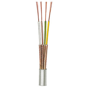low-frequency electrical cable / audio/video / shielded / multi-conductor