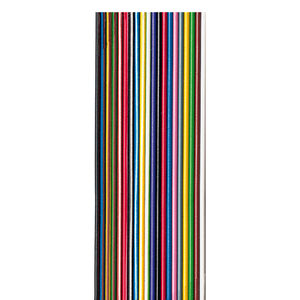 ribbon electrical cable / data / DIN / stranded