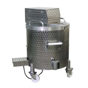 boiling pan for the food industry