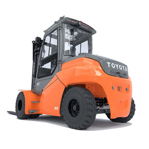heavy-duty forklift / electric / ride-on / indoor