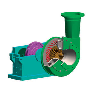 gear turbo-compressor / power generation / high-speed / turbine