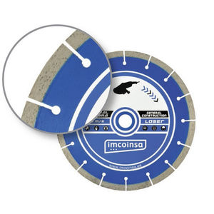 stone cutting disc / for concrete / diamond-coated