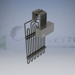 armored heating element