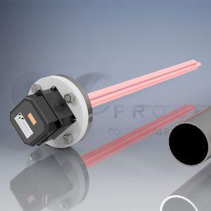 tubular resistance heater / armored