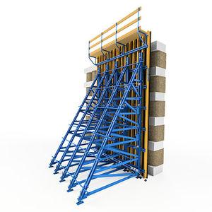 climbing formwork system / facade / for concrete
