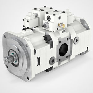 hydraulic axial piston pump / high-pressure / variable-displacement / low-noise level