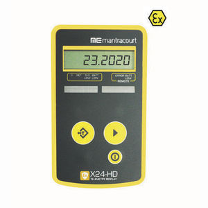 load cell displays / numeric / 6-digit / wireless