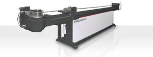 hydraulic bending machine / for tubes / NC / semi-automatic