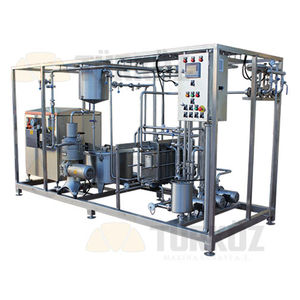 dairy product pasteurizer / in-line