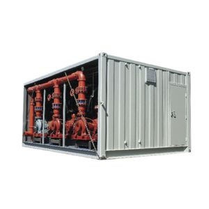 firefighting pumping unit / centrifugal / multi-stage / vertical