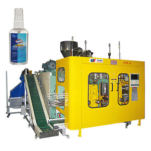 extrusion blow molding machine / for bottles / for medical applications