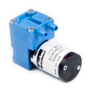 pump with DC motor / diaphragm / industrial / compact