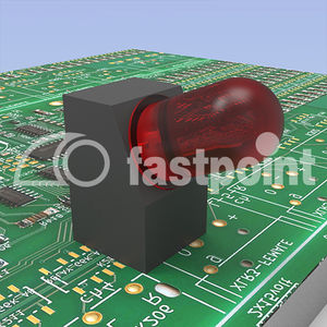 plastic spacer / for LEDs
