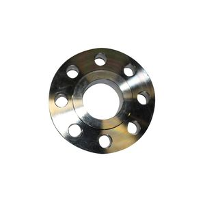 stainless steel flange / through-hole