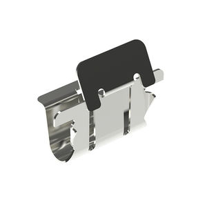 connector clip / stainless steel / fixing / U-shaped