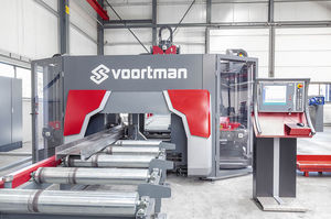 CNC drilling and milling machine / for profiles / high precision / high-speed
