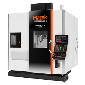 5-axis CNC machining center / vertical / high-power / high-rigidity