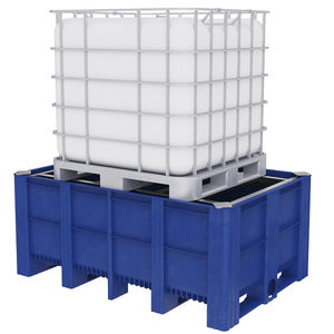 IBC container spill pallet / plastic