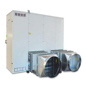 stationary hot air generator