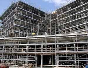 fixed scaffolding