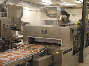 automatic pizza production line