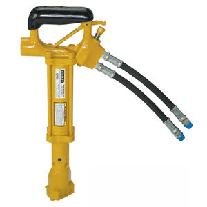 hydraulic chipping hammer / for construction / horizontal / hand-held