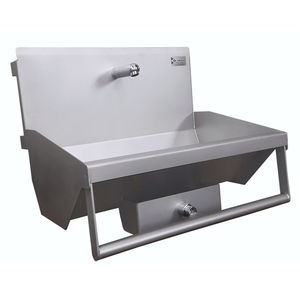 sink for the food industry / hand washing / stainless steel / hygienic