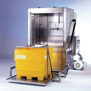 water washing machine / steam / automatic / for food industry applications